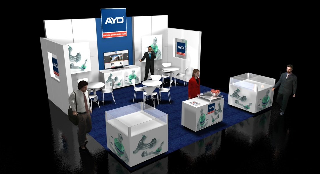 Exhibit Booth Design Taser Design Offers Design And Fabrication Project Ma