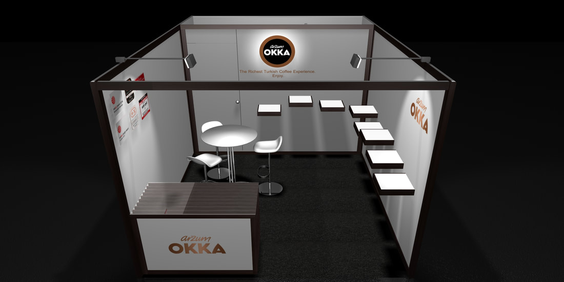 Exhibit Booth Design - Taser Design offers design and fabrication